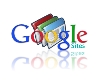 Logo antiguo de Google Sites