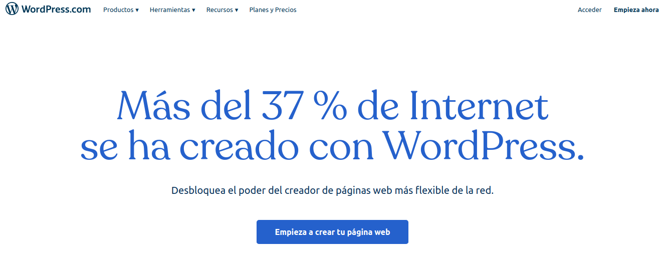 Interfaz de WordPress