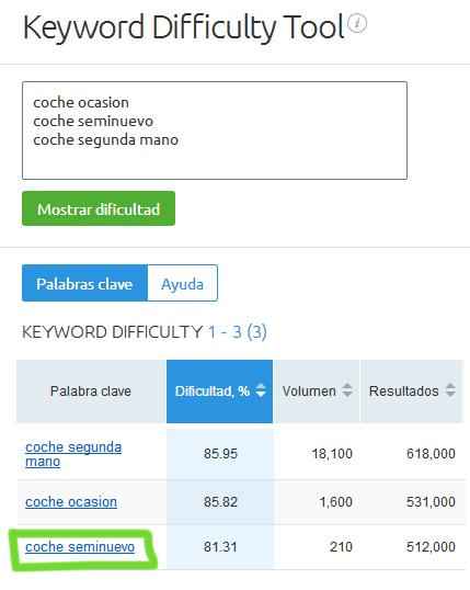 """keyword-dificultad"""""""""""