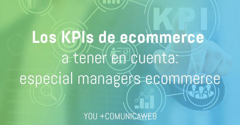 KPIs ecommerce manager