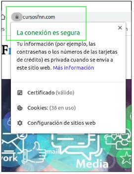Certificado de segurida SSL