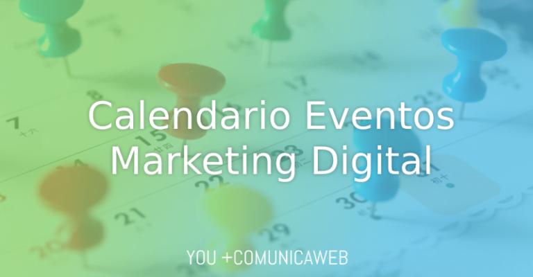 calendario de eventos de marketing digital