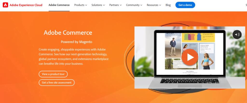 Plataforma ecommerce Magento Adobe