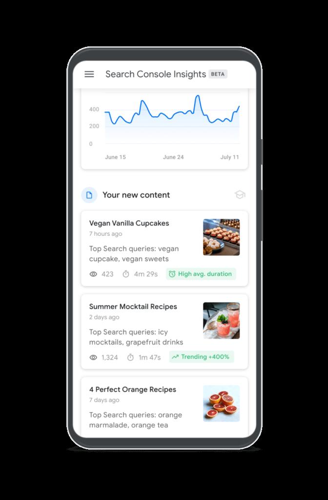 google search console insights google